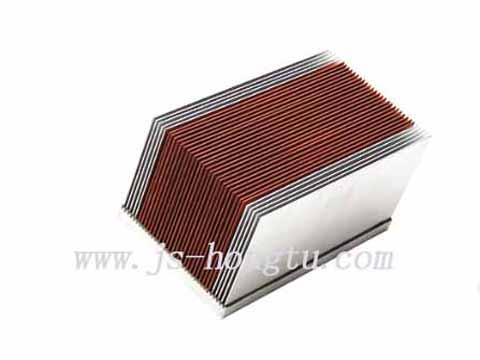 铜铝fu合散热器