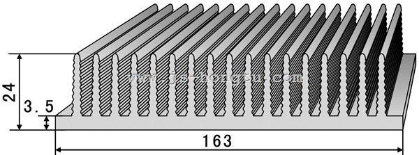 电zi散热qi,HT163×24mm规格