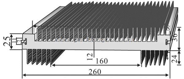 电zi散热qi,HT260×25mm规格