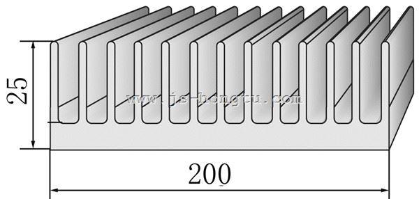 电zi散热qi,HT200×25mm规格