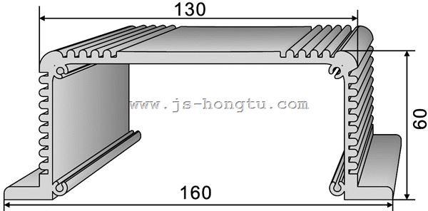 电zi散热qi,HT160×60mm规格