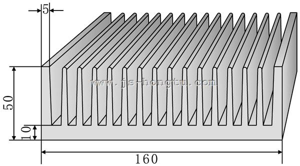 电zi散热qi,HT160×50mm规格
