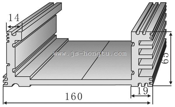 电zi散热qi,HT160×65mm规格