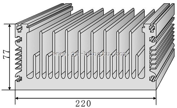 电zi散热qi,HT220×77mm规格