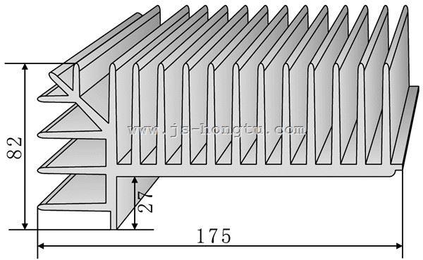 电zi散热qi,HT175×82mm规格