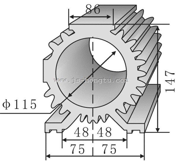 电zi散热qi,HT150×147mm规格